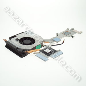 Ventilateur principal type 2 avec refroidissement CPU et GPU pour HP pavilion DV6000