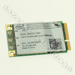 Carte INTEL wifi mini PCI MM2