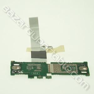 Carte bouton D/G touchepad pour Toshiba Satellite M30X