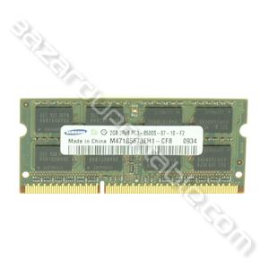 Mémoire PC3-8500-2GB