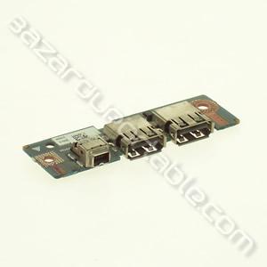 Carte fille port USB et firewire pour Dell VOSTRO 1510