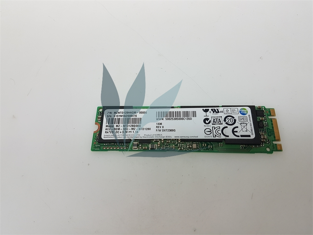 Disque dur SSD MZNTD128HAGM M2 NGFF SSD 128G pour Sony SVF13n1g4e