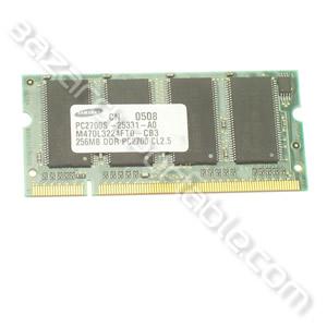 Mémoire portable 256 Mo PC 2100 - DDR 266