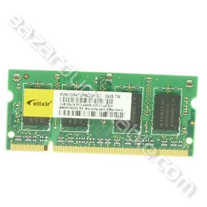 Mémoire PC2- 6400 - 555 Mhz - 1GB