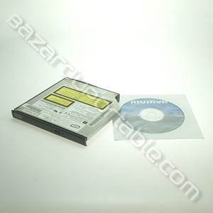 Lecteur CD/DVD Toshiba 8x/24x SlimLine Notebook (avec sa façade)+ CD d'installation