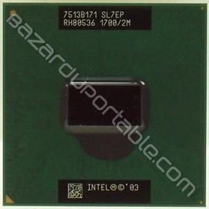 Processeur Intel Centrino - 1.7 Ghz - 2 Mo de cache - bus 400 Mhz - Origine HP pavilion DV1000