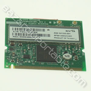 Carte wifi 54G MaxPerformance 802.11g Broadcom