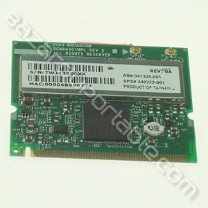 Carte wifi 54G MaxPerformance 802.11g Broadcom
