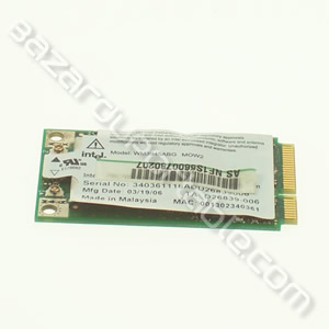 Carte INTEL wifi mini PCI